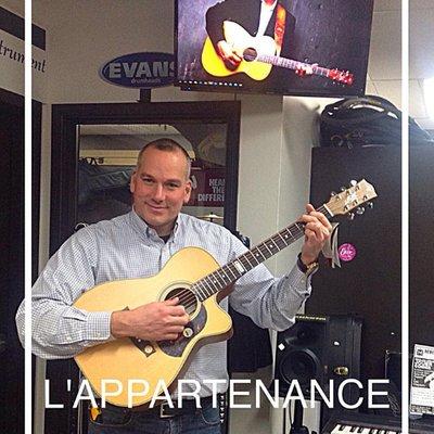 Cours de guitare pour débutant à Ste-Foy